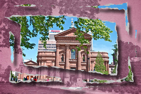 Photograph - Philly Scenic Ripped by Alice Gipson