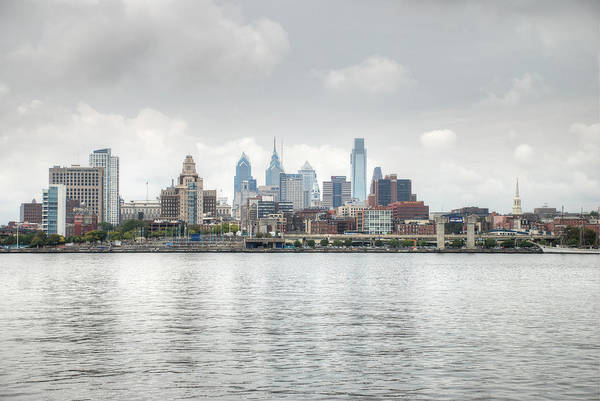 Photograph - Philly Skyline by Jennifer Ancker