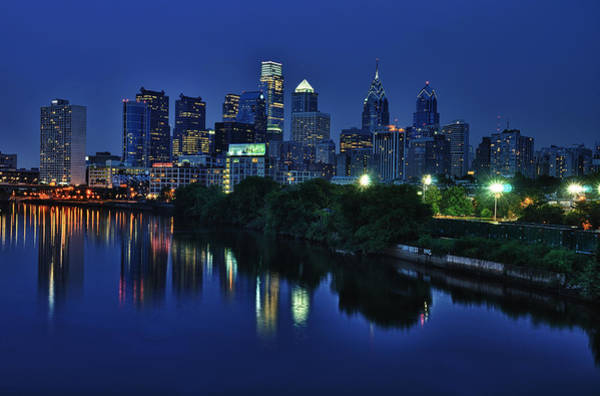 Pennsylvania Photograph - Philly Skyline by Mark Fuller