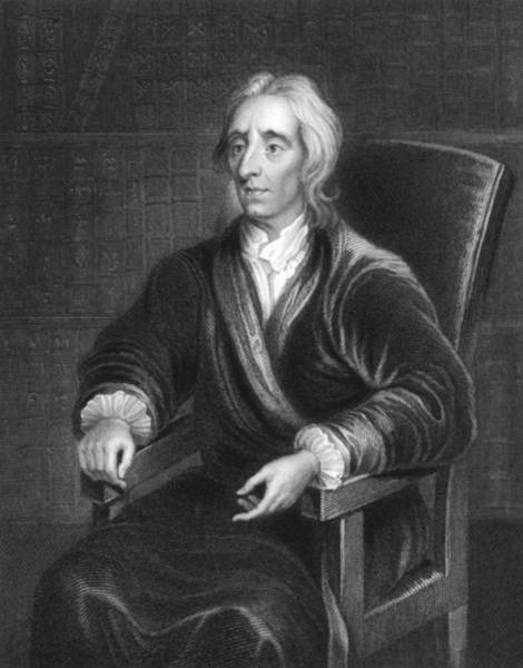 Wall Art - Photograph - Philosopher John Locke by Underwood Archives