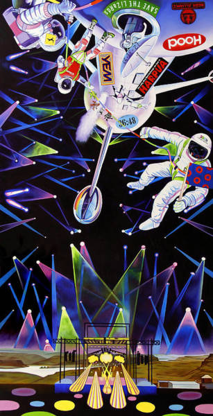 Wall Art - Painting - Phish-the Gorge A Space Jam by Joshua Morton