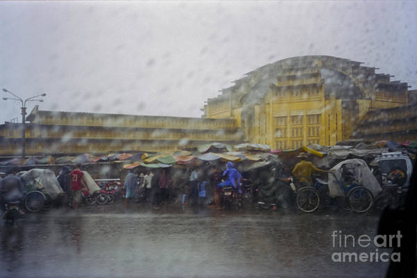 Photograph - Phnom Penh Central Market by Hans Janssen