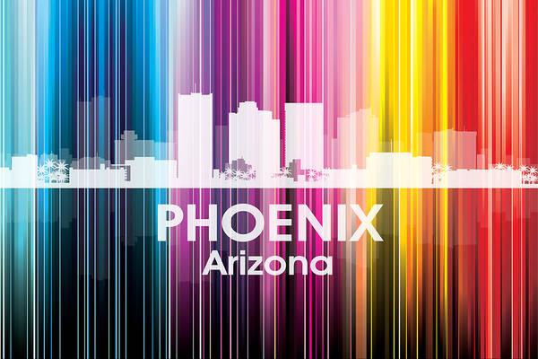 Metropolis Mixed Media - Phoenix Az 2 by Angelina Tamez