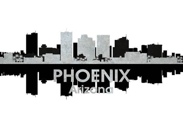 Metropolis Mixed Media - Phoenix Az 4 by Angelina Tamez