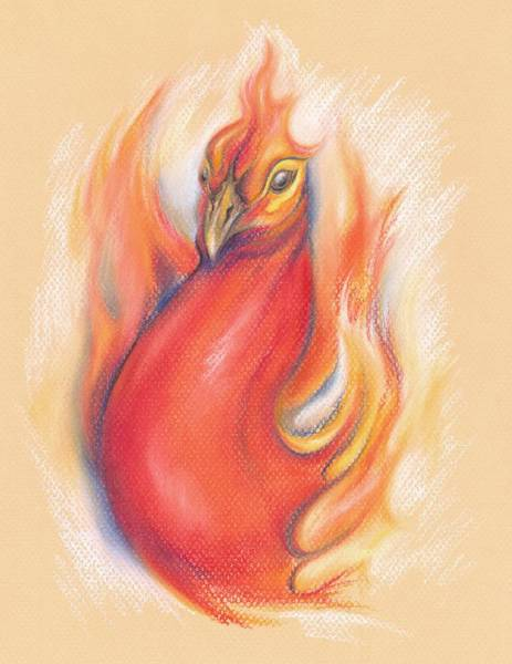 Pastel - Phoenix In The Flames by MM Anderson