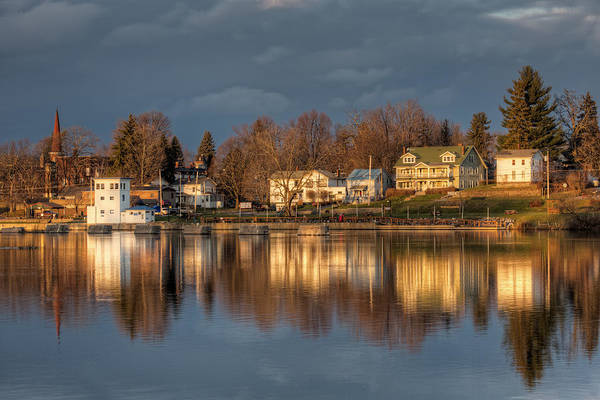 Phoenix Photograph - Reflection Of A Village - Phoenix Ny by Everet Regal