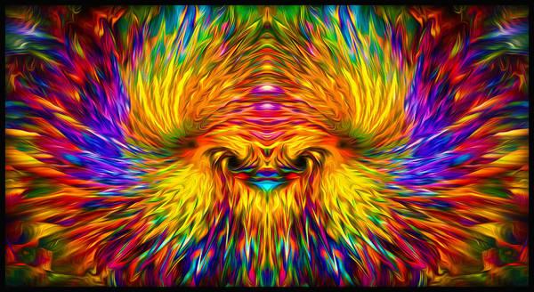 Digital Art - Phoenix Rising  by Jalai Lama