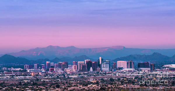 Phoenix Skyline Wall Art - Photograph - Phoenix Skyline by Scott Carlin