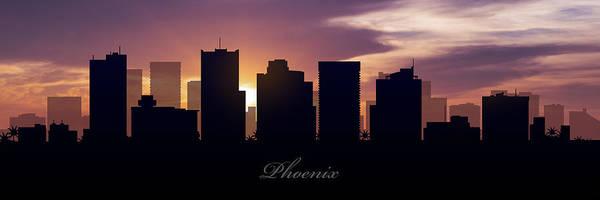Phoenix Photograph - Phoenix Sunset by Aged Pixel