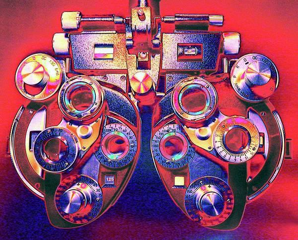 Lenses Photograph - Phoropter by Larry Berman