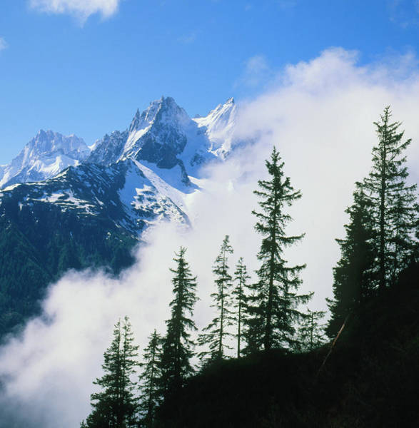 Chamonix Wall Art - Photograph - Photo Of The French Alps by Simon Fraser/science Photo Library