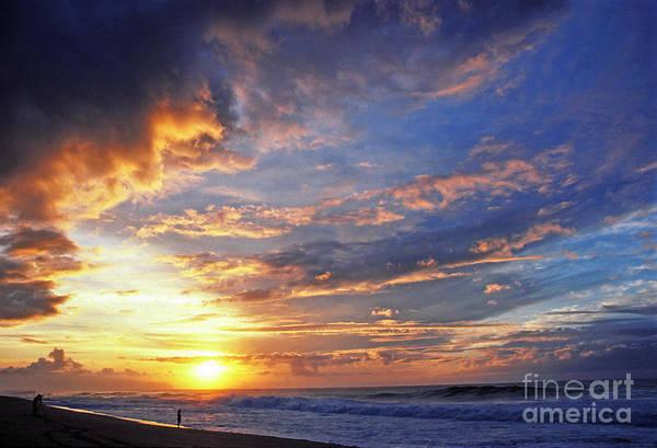 Photograph - Photo Shoot Sunset Banzai Beach by Thomas R Fletcher