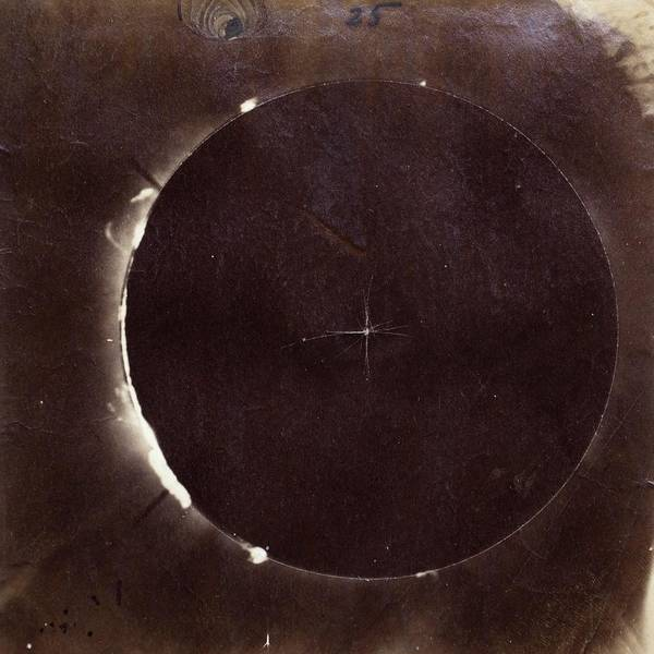 Totality Photograph - Photograph Of The 18 July 1860 Total Solar Eclipse by Royal Astronomical Society/science Photo Library