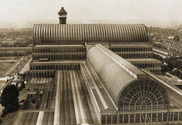 Wall Art - Photograph - Photograph Of The Roof Of The  Crystal by Mary Evans Picture Library