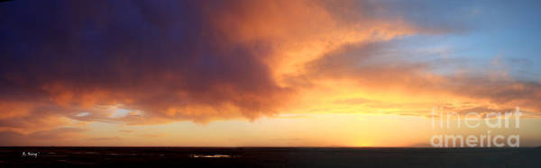 Wall Art - Photograph - Photograph Panorama When The Sky Turns Color by Roena King