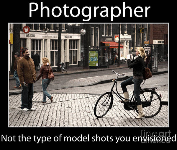 Photograph - Photographer by John Rizzuto