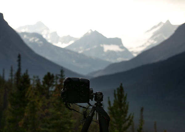 Wall Art - Photograph - Photographing The Tonquin Valley by Cale Best