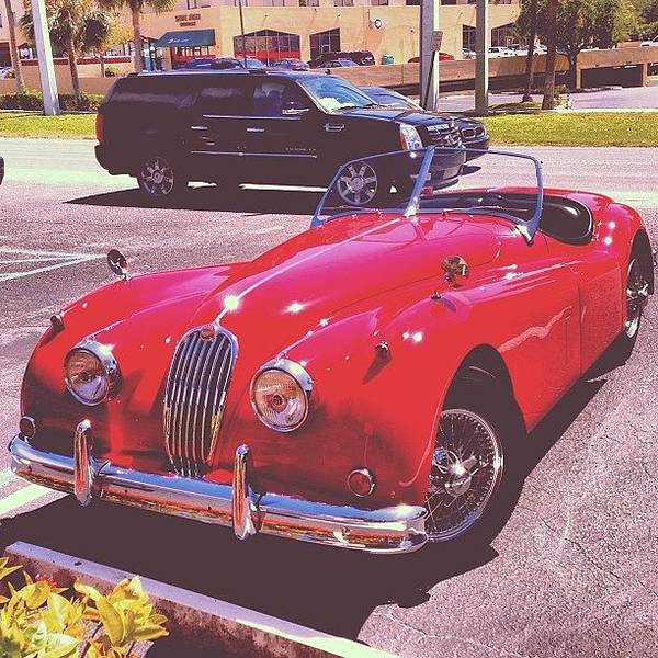 Jaguar Photograph - #photooftheday #picoftheday #car #cara by Jake Work