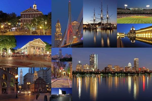Photograph - Photos Of Boston Historic Landmarks by Juergen Roth