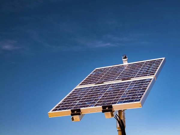Solar Panels Photograph - Photovoltaic Cells by Wladimir Bulgar