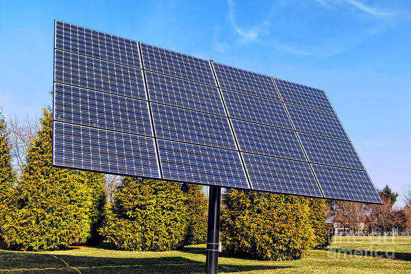 Photograph - Photovoltaic by Olivier Le Queinec