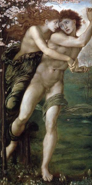 Boudoir Digital Art - Phyllis And Demophoon by Edward Burne Jones