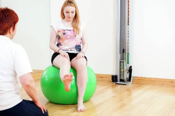 Therapy Photograph - Physiotherapy Session by Dan Dunkley