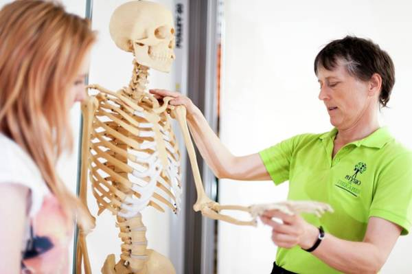 Therapy Photograph - Physiotherapy Training by Dan Dunkley