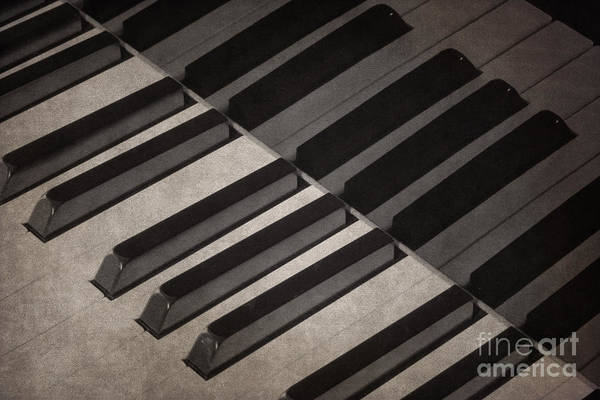 Photograph - Piano Keys I by Clarence Holmes