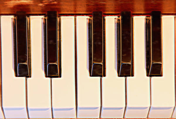 Photograph - Piano Octave by James BO Insogna