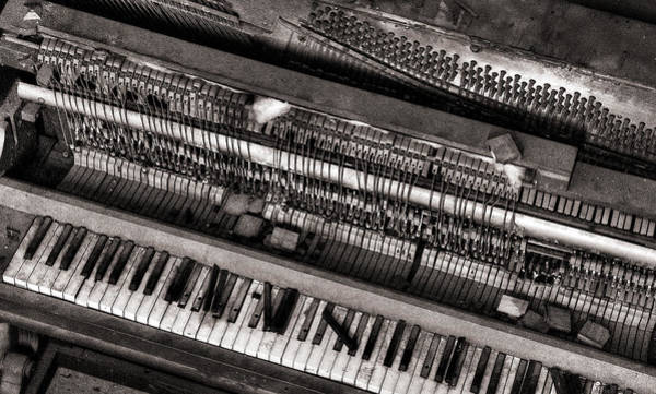 Photograph - Piano by Russell Brown