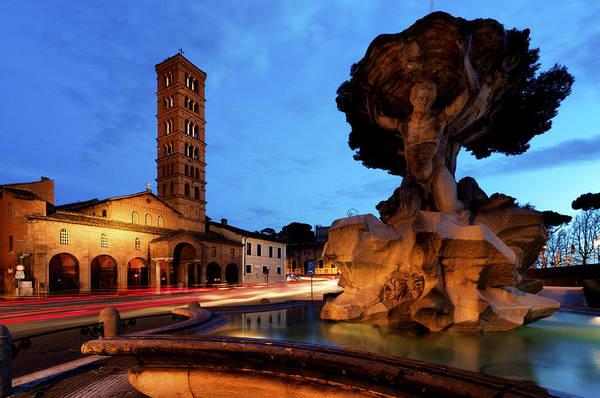 Photograph - Piazza Della Bocca Della Verita' by Fabrizio Troiani