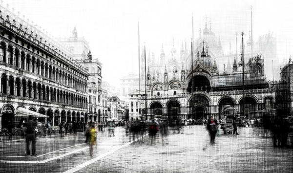 Wall Art - Photograph - Piazza San Marco by Carmine Chiriac?