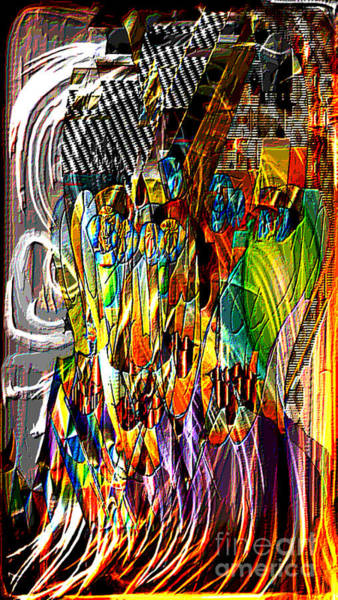 Merge Digital Art - Picasso And Me by Kim Peto