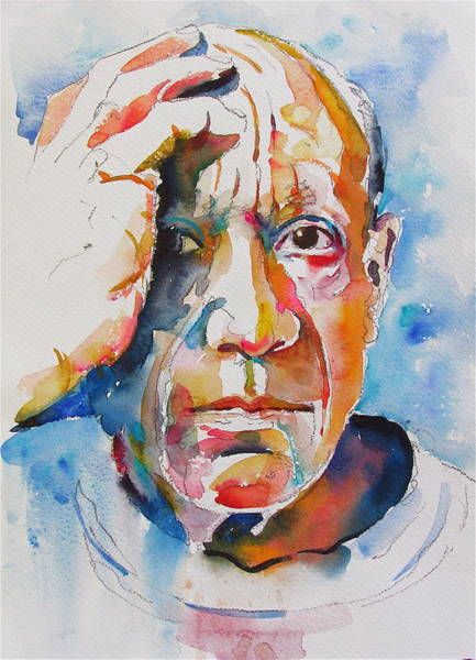 Painting - Picasso by David Lobenberg
