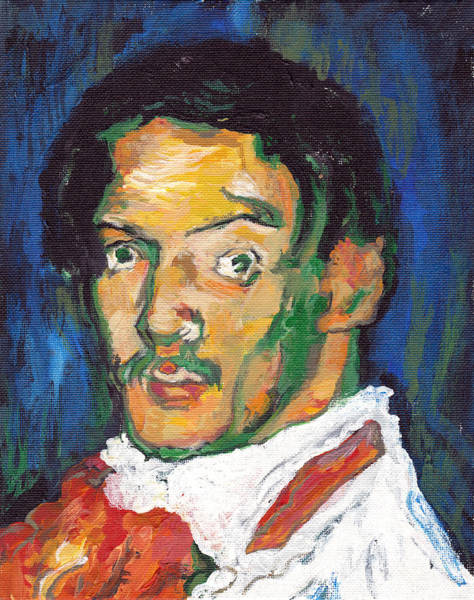 Painting - Picasso by Tom Roderick