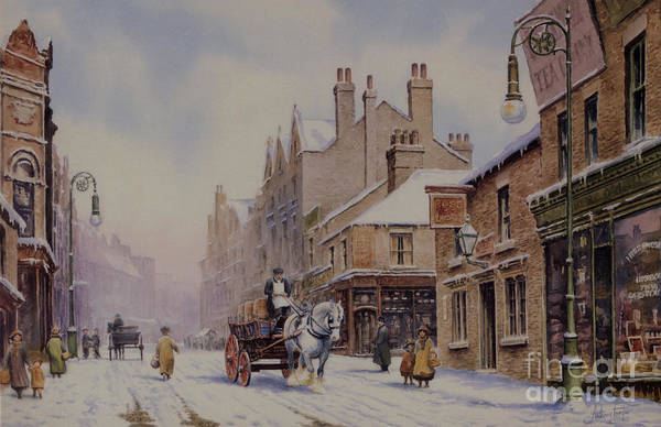 Wall Art - Painting - Piccadilly Hanley by Anthony Forster