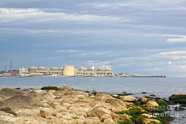 Pickering Photograph - Pickering Nuclear Power Station by Charline Xia