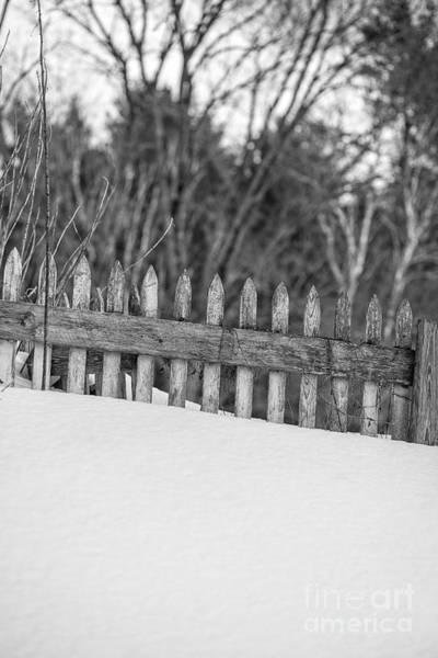 Drift Photograph - Picket Fence by Edward Fielding