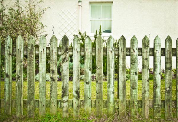 Boundaries Wall Art - Photograph - Picket Fence by Tom Gowanlock