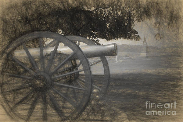 Photograph - Pickette's Charge by Paul W Faust -  Impressions of Light