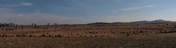 Cemetery Ridge Photograph - Picketts Charge From Seminary Ridge by Joshua House