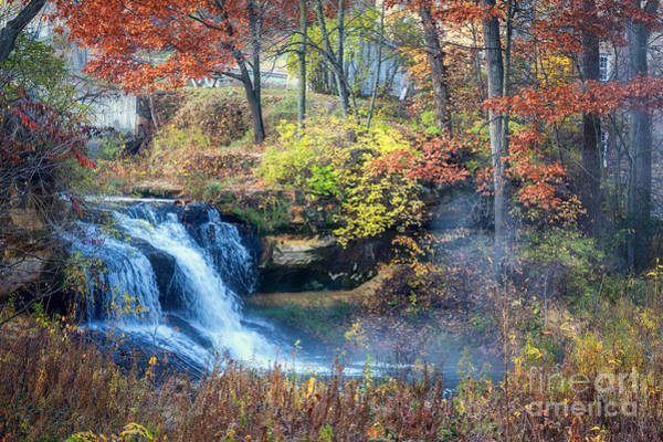 Photograph - Pickwick Mill Falls by Kari Yearous