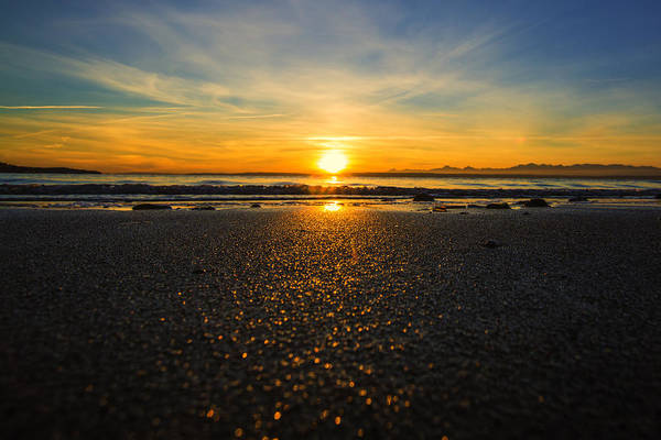 Pnw Wall Art - Photograph - Picnic Point Sand by Ryan McGinnis