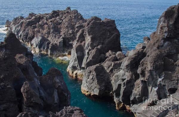 Photograph - Pico Island Sea Cliffs  by Chris Scroggins