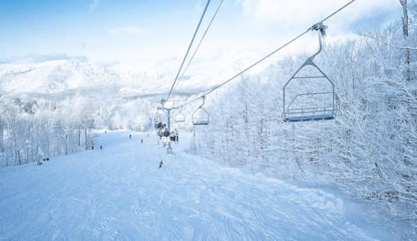 Boarding Pass Photograph - Pico Ski Resort 3 by Patsy Zedar