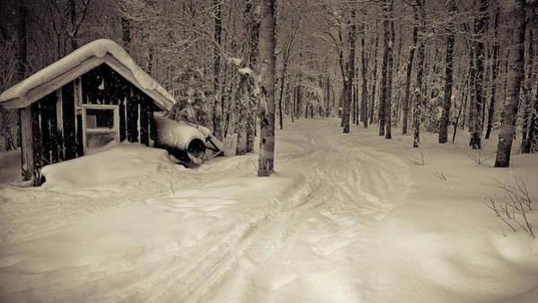 Boarding Pass Photograph - Pico Ski Resort 4 by Patsy Zedar