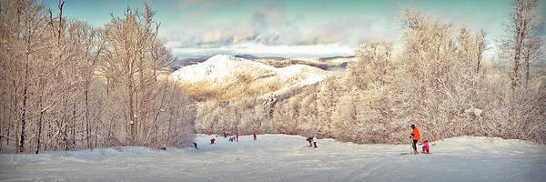 Boarding Pass Photograph - Pico Ski Resort by Patsy Zedar