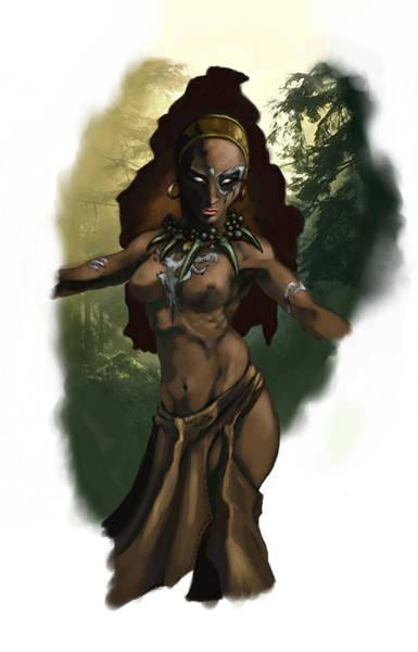Witch Digital Art - Pict Witch by Matt Kedzierski