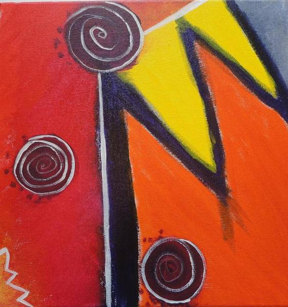Wall Art - Painting - Pictograph by Valerie Howell